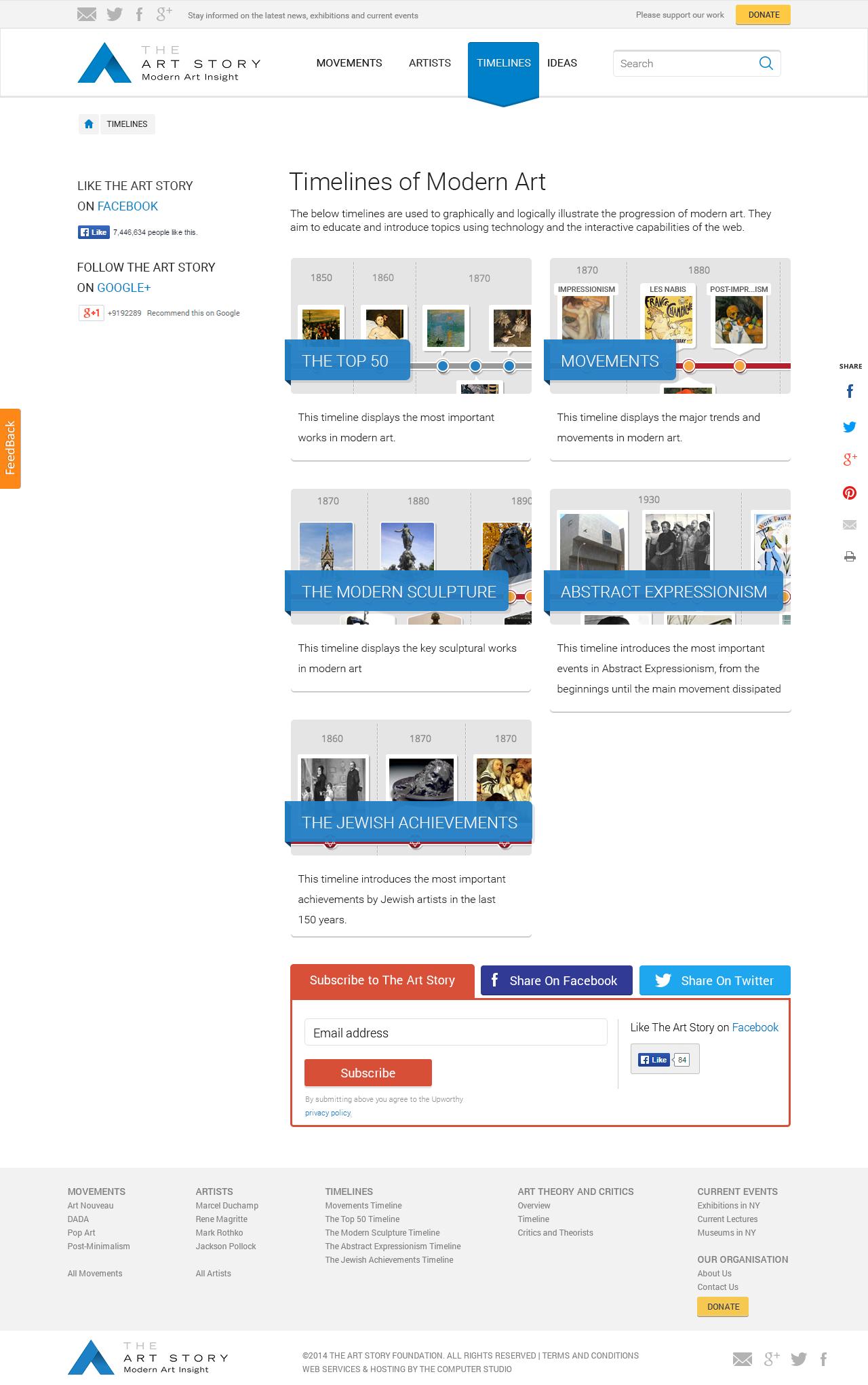 Web Portal Design -Desart Lab