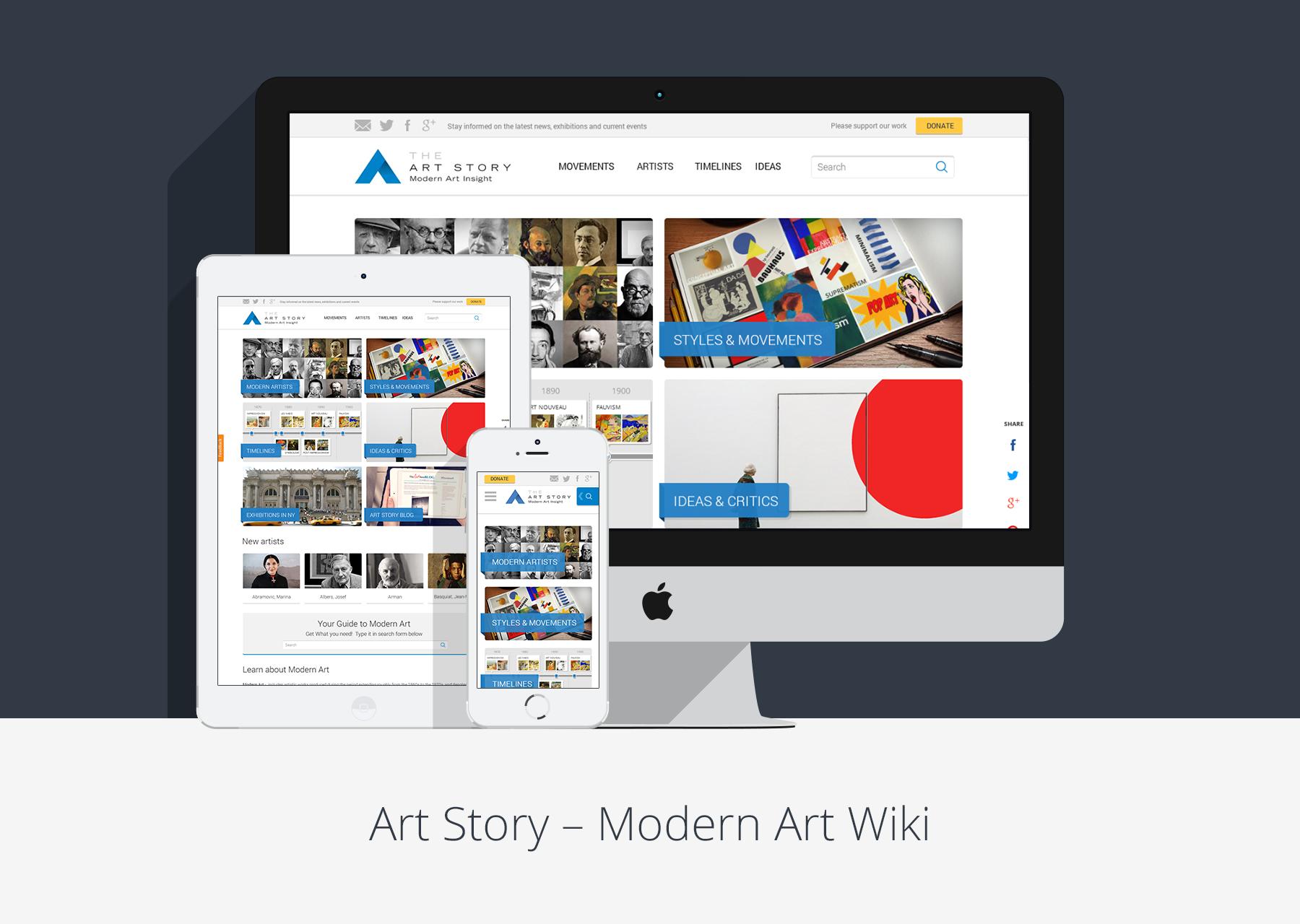 Web portal design desart lab for Portale design