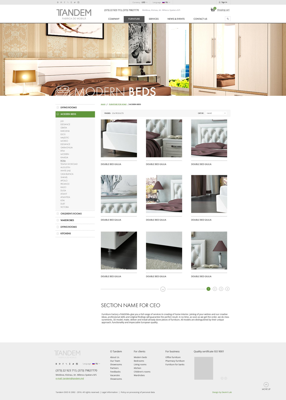 TANDEM - Furniture factory - DesArt Lab