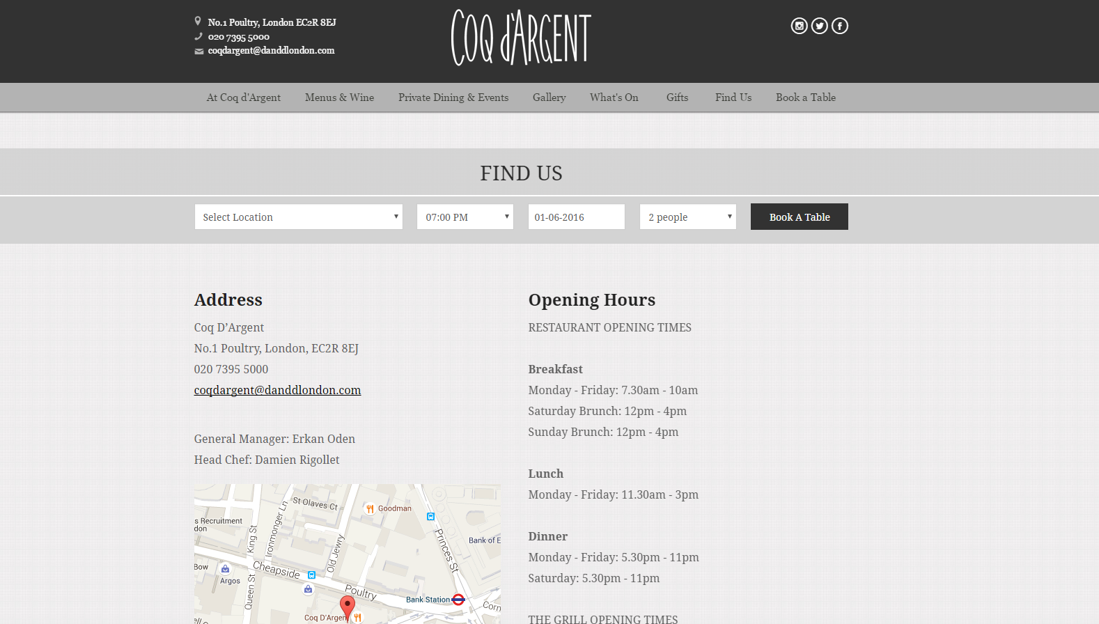 Tips for designing great food and restaurant websites